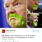 If we kiss the friggin' frog…